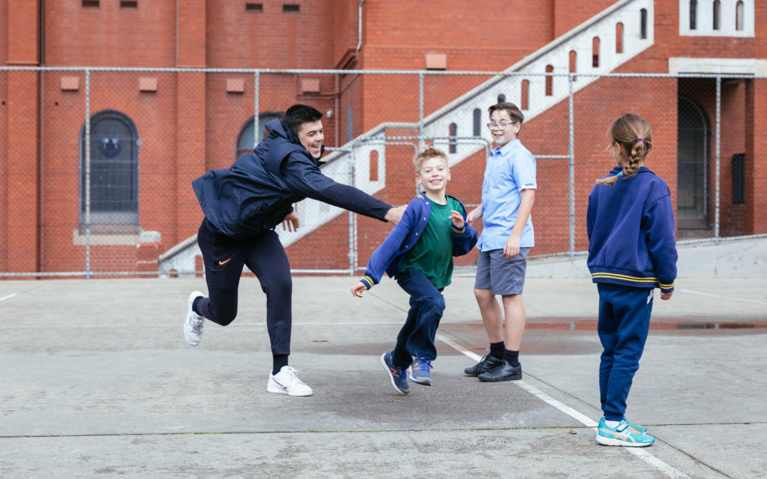 Kicking off Carlton Respects in Schools for 2019