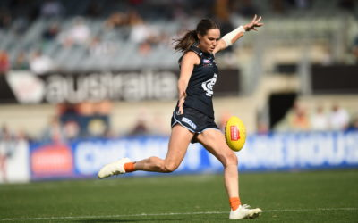 Carlton Respects AFLW Game in 2019