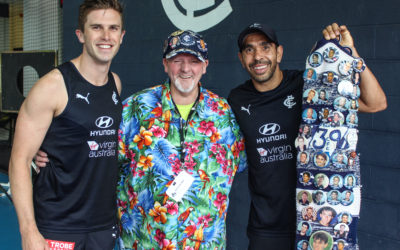 A lifetime in Blue: Carlton honours 50-year member
