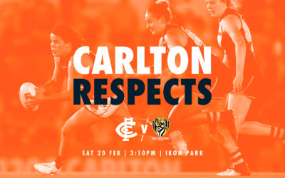 Game Changers proud to play for Carlton Respects